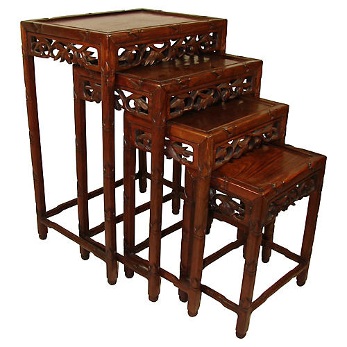 Nest Of Four Chinese Tables