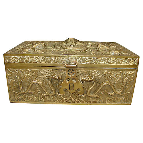 Chinese Bronze Box