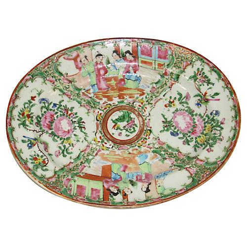 Rose Canton Platter