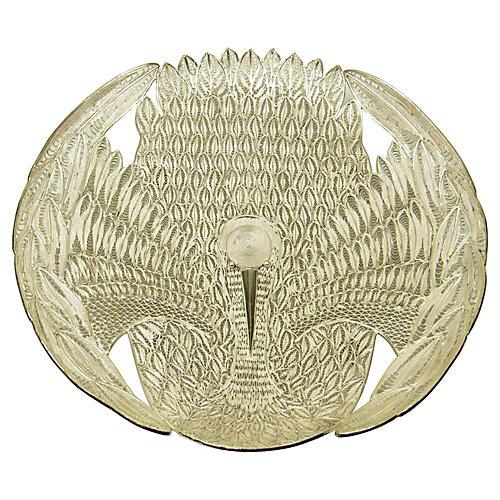Silver Filigree Dish