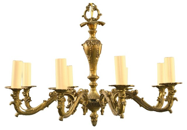 French Rococo-Style Chandelier