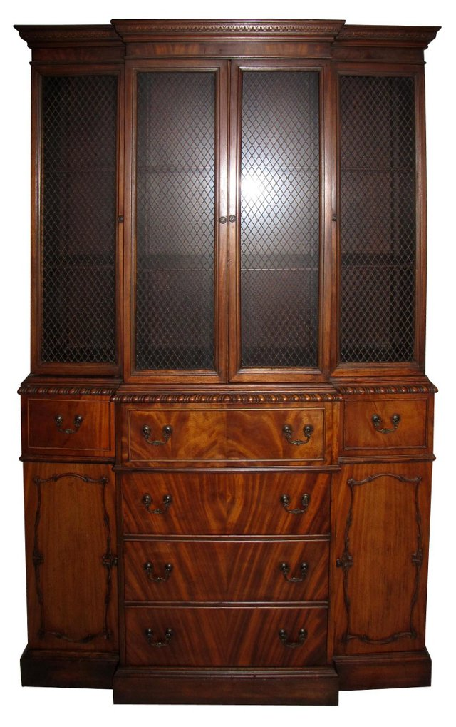 Ebert Furniture Breakfront China Cabinet