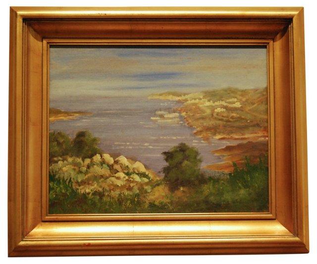Sea and Landscape Scene