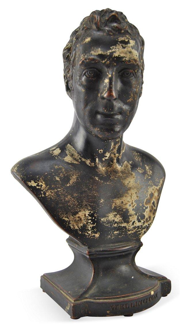 Wood & Caldwell Wellington Bust, 1840