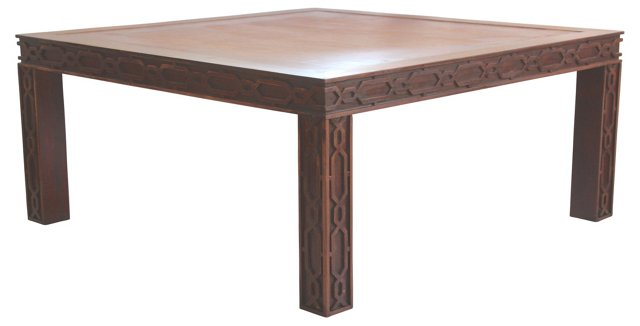 Fretwork  Coffee Table