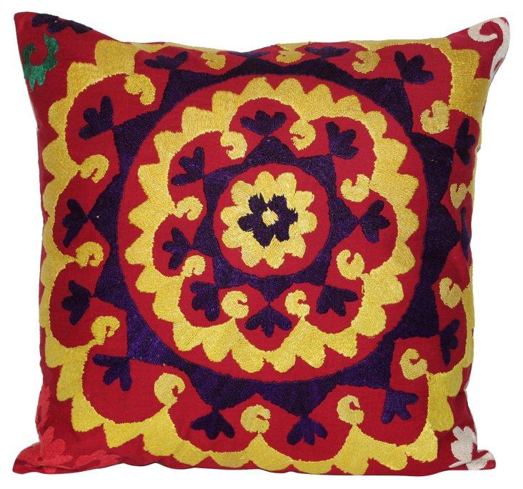 Garden-Design    Suzani Pillow