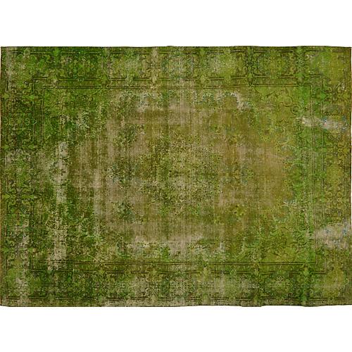 Persian Overdyed Carpet, 9'x 12'