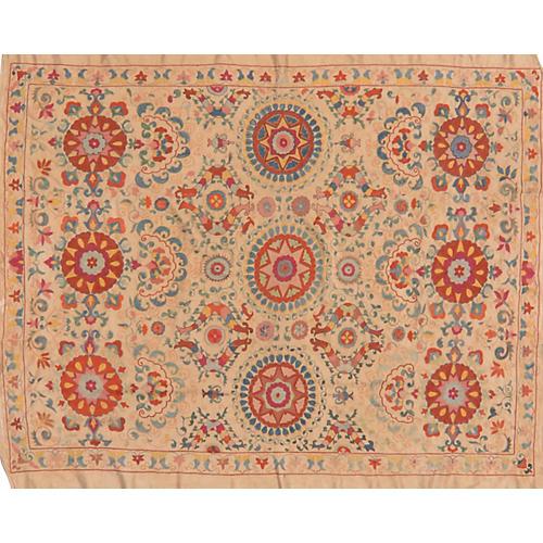Uzbek Floral Suzani