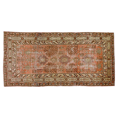 "Antique Khotan Rug,6'3""x13'"