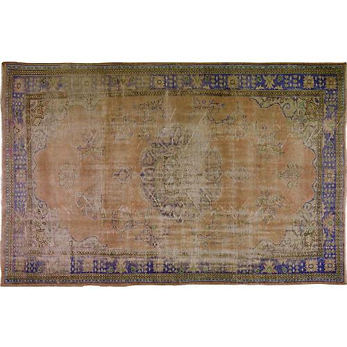 "Antique Khotan Rug, 7'7"" x 11'9"""