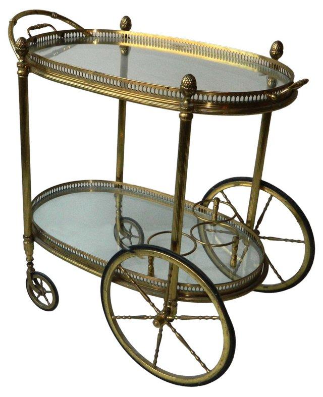 Maison Bagues Bar Cart