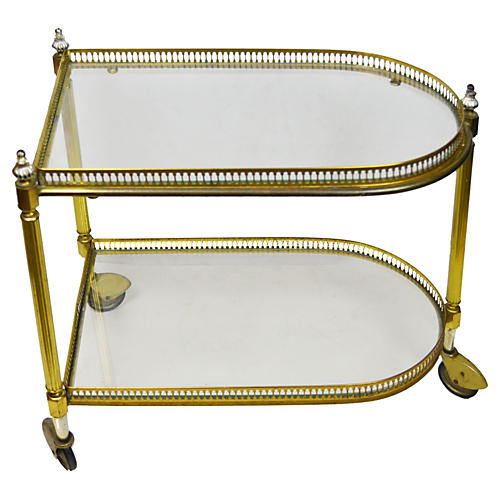 French Maison Jansen Cart