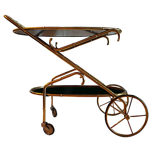 Maison Bagues Oval Cart, C.1960