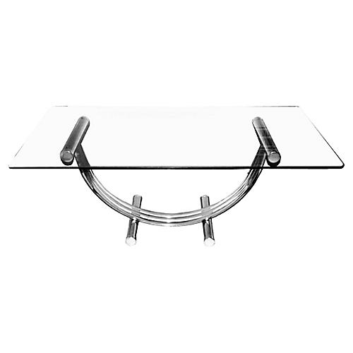 Curved-Base Console