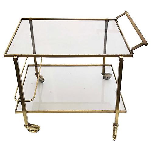 Maison Jansen Bar Cart