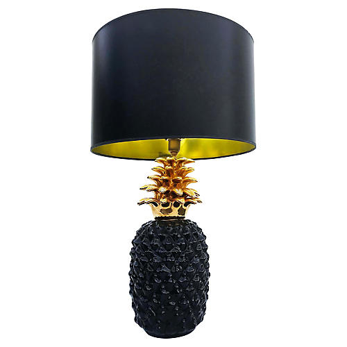Pineapple Table Lamp by Lancel Paris