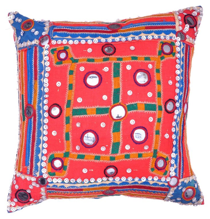 Indian  Gypsy Pillow