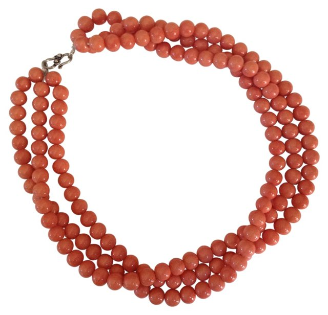 3-Strand Shell Necklace
