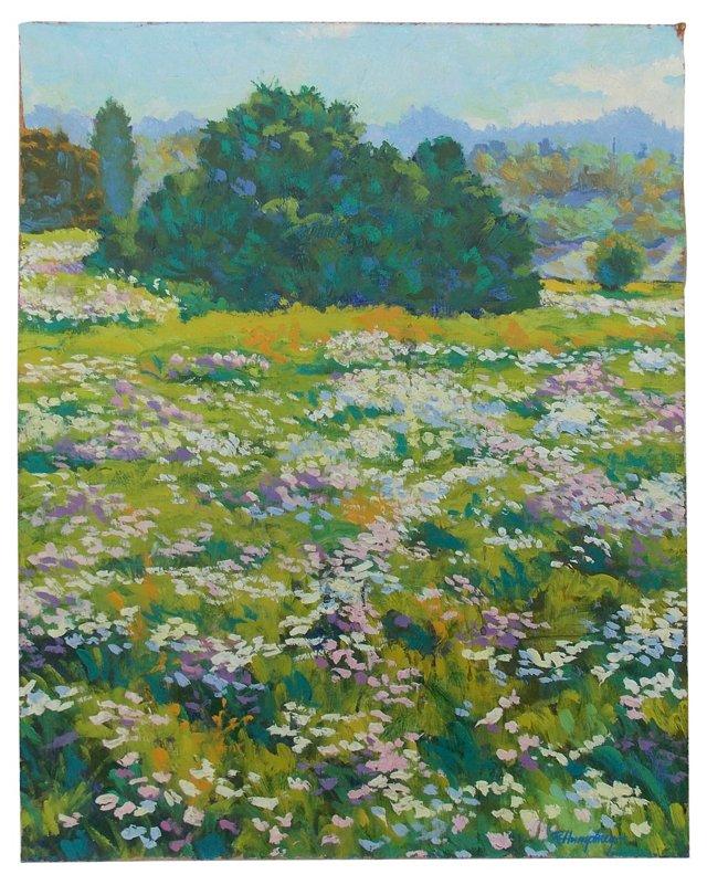 Flowering Field by Humphrey