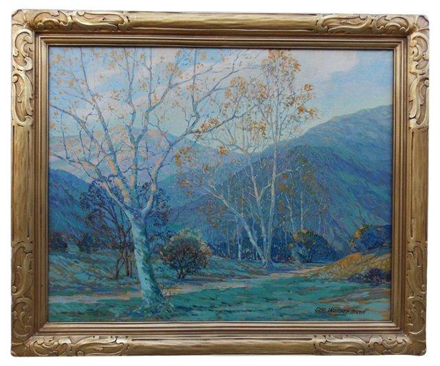 California Landscape by George W. Olson