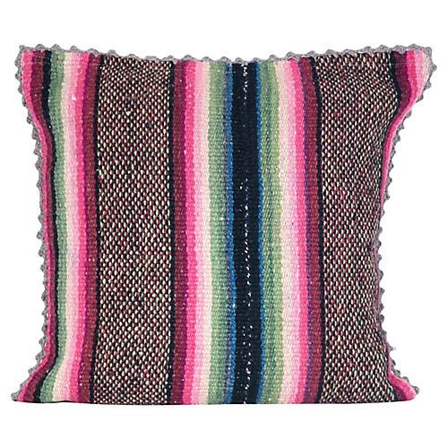 1980s Peruvian Heirloom Pillow