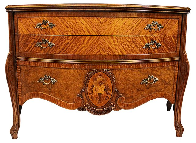 Bow-Front Commode