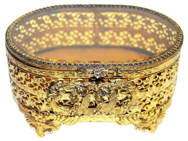 Gold Vanity Box
