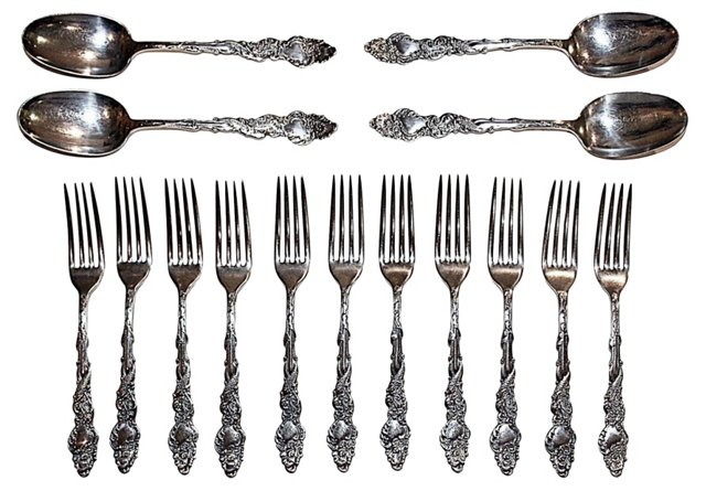 Rogers Forks & Spoons, S/15