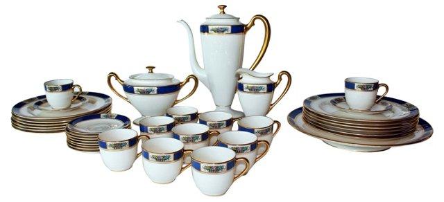 Lenox  Tea Set, Svc. for 12