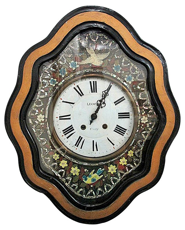 19th-C. French Baker's Clock