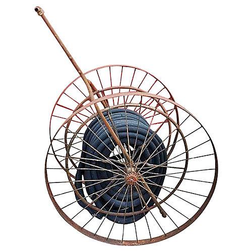 Antique Hose Reel