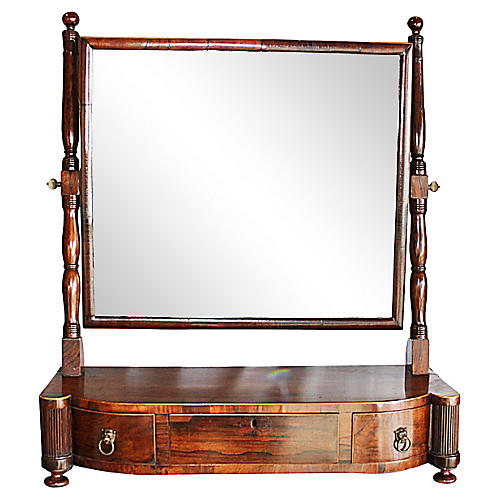 Rosewood Shaving Mirror