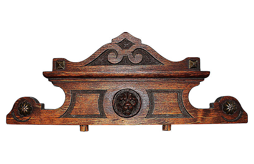 Antique French Cartouche