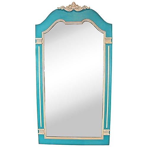 Blue & Gray Drexel Mirror