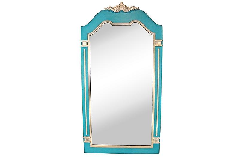 Blue & Gray Drexel Mirror