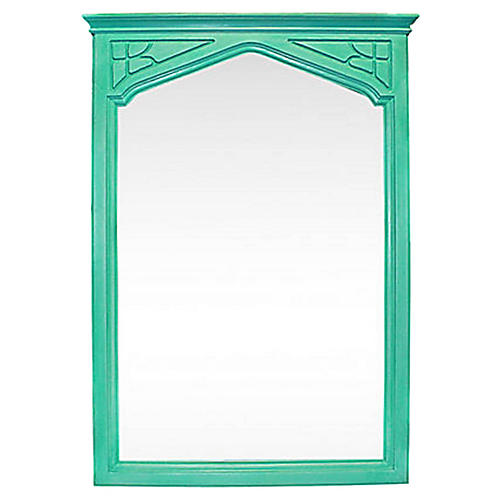 Arts & Crafts-Style Painted Mirror