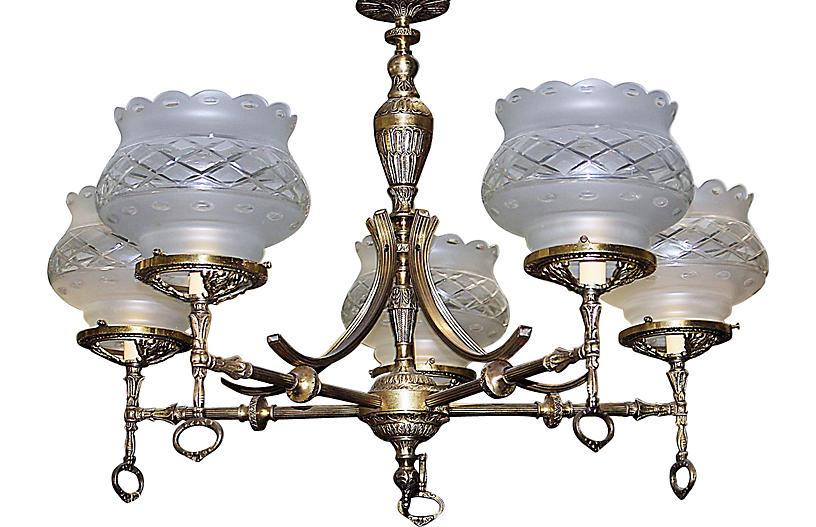 5light chandelier