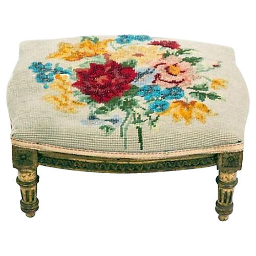 French Louis XVI-Style Footstool