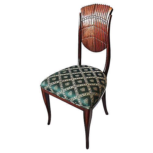 Scalloped-Back Side Chair