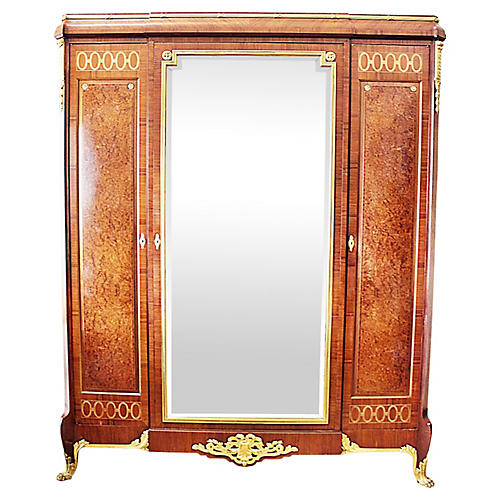 French Haentges Freres Armoire