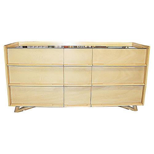 Mid-Century Modern Mahogany Dresser