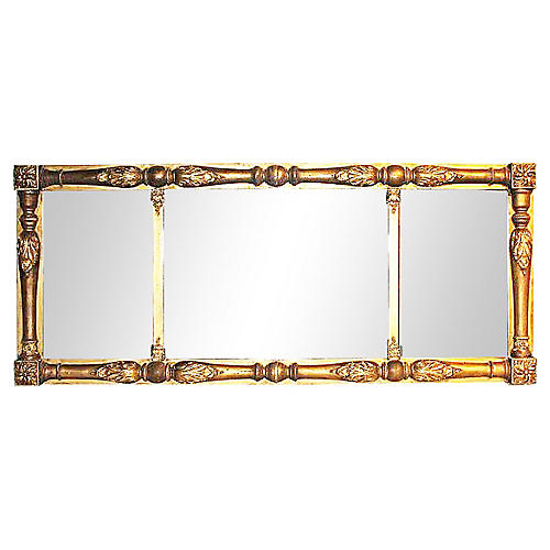 American Federal Gilded Mirror