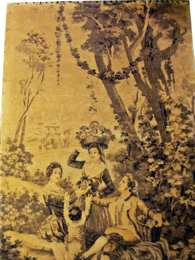 19th-C. French Wall Tapestry