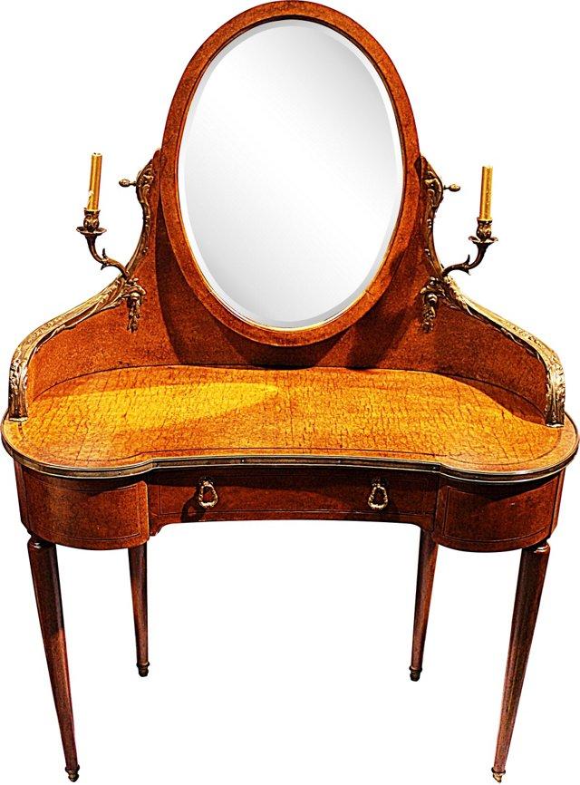 French Demilune Vanity