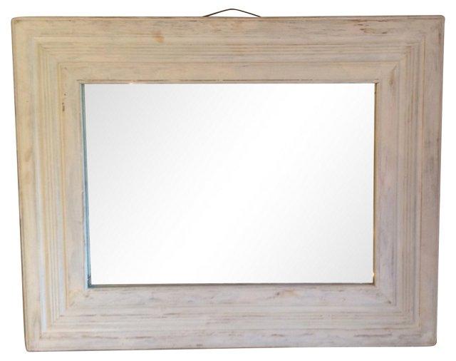 Rustic Handcrafted Mirror