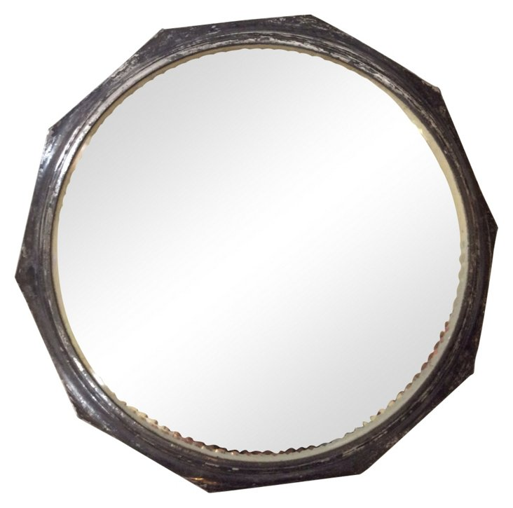 Silverplate Mirror Plateau