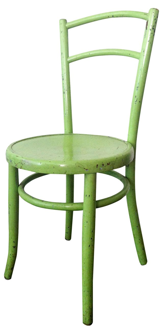 Chartreuse Thonet-Style Cafe Chair
