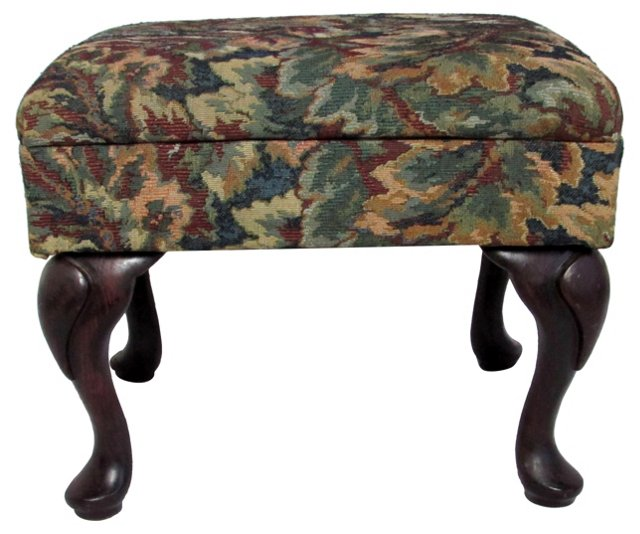 Queen Anne-Style Foot Stool