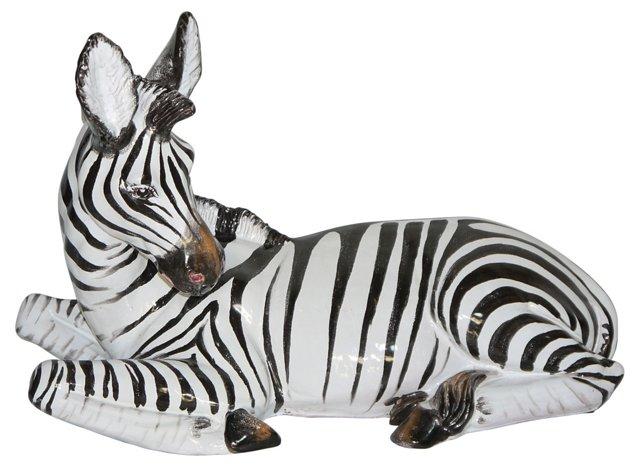 Italian Ceramic Zebra