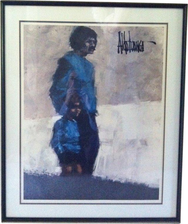 Aldo Luongo 1970s Poster